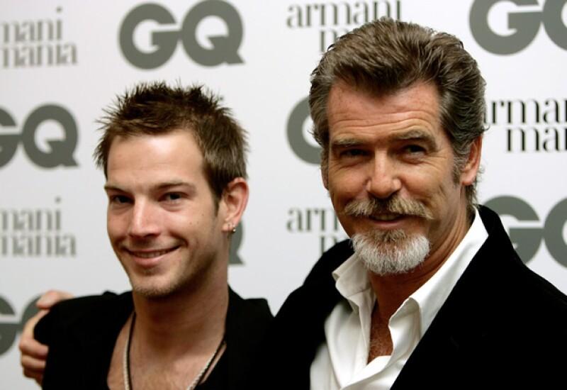 De los tres hijos del actor, Sean es el que menos se parece a él.