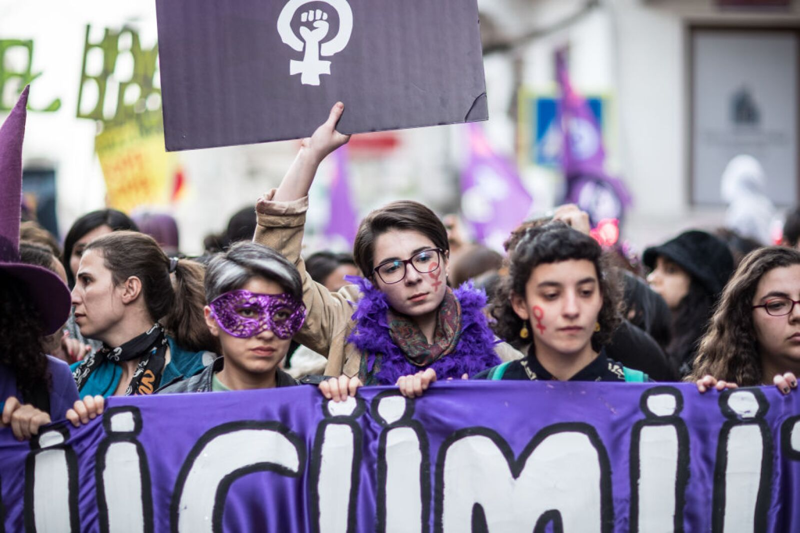 International Women's Day In Istanbul