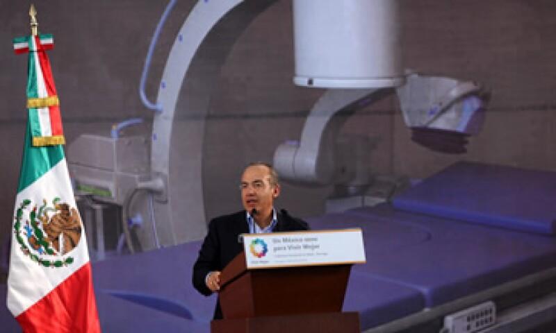 Calderón resaltó que su administración ha sido un Gobierno comprometido con la infraestructura de los mexicanos. (Foto: Notimex)