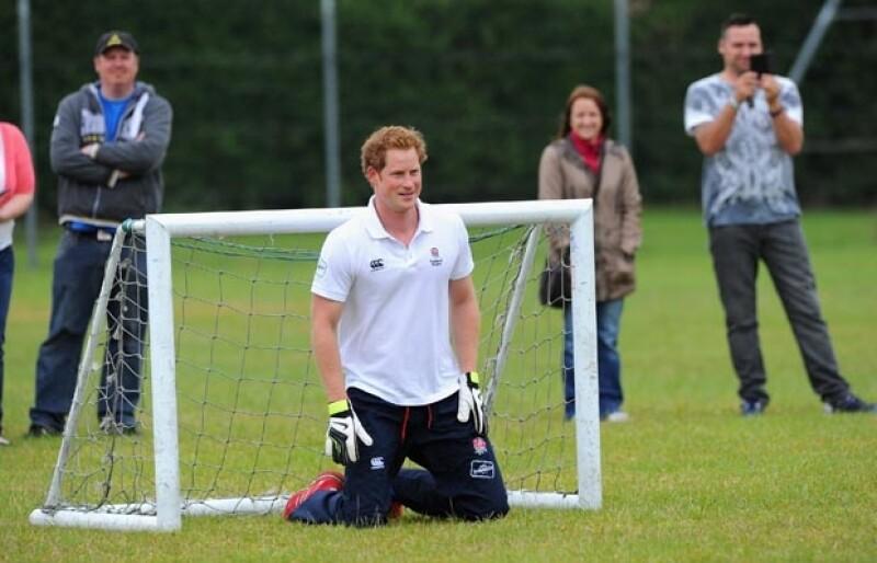"""El portal """"Daily Mail"""" que el hijo de la princesa Diana llegará el 23 de Junio a Sudamérica. Asistirá al partido Inglaterra vs Costa Rica, entre otros compromisos."""