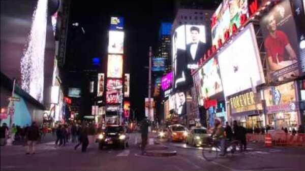 Nueva York exhibe la pantalla más grande del mundo