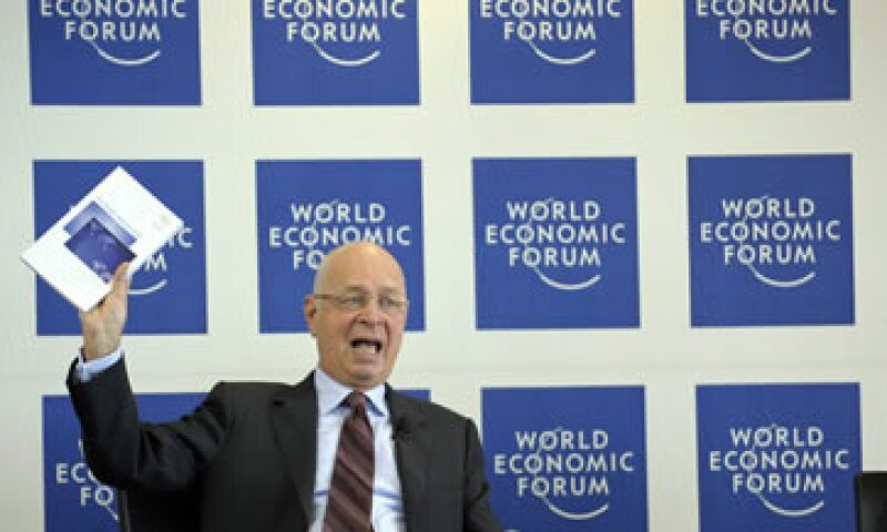Klaus Schwab es fundador y presidente ejecutivo del Foro Económico Mundial.  (Foto: AP)