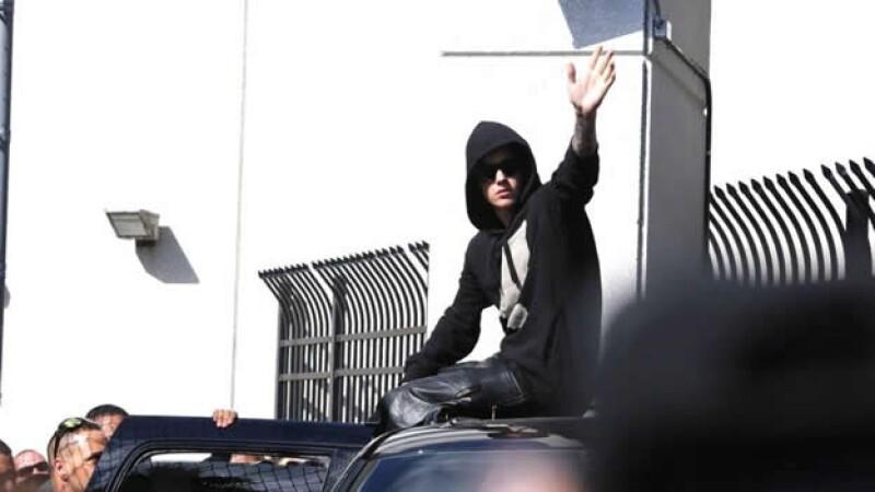 Justin Bieber liberado Miami 2