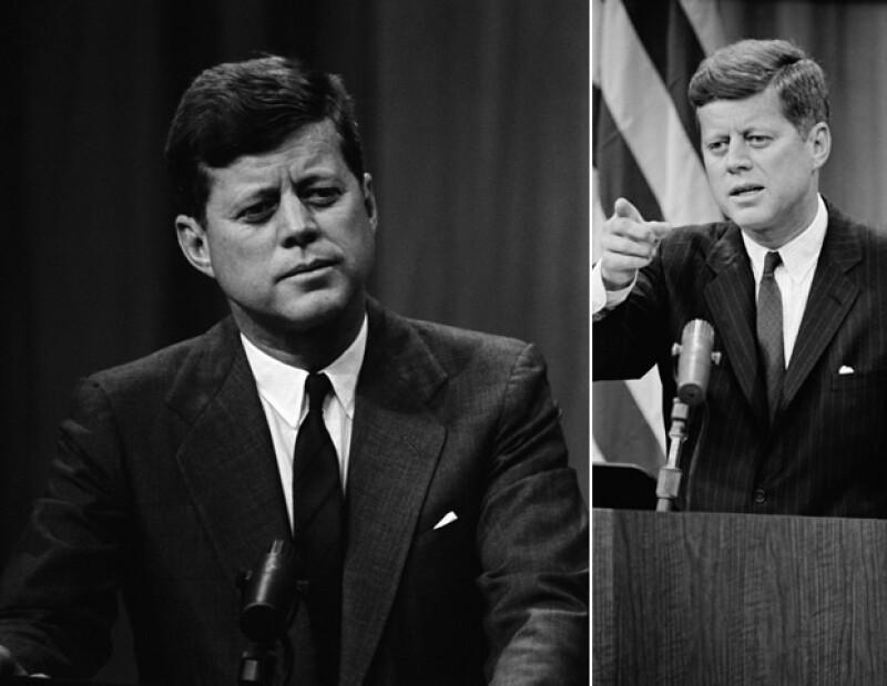 El estilo de Kennedy era siempre formal y nunca fuera de lugar.