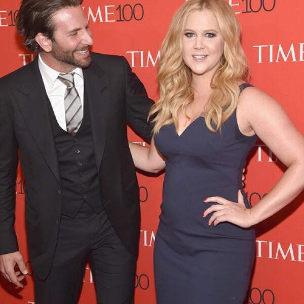 Amy Schumer, Bradley Cooper.