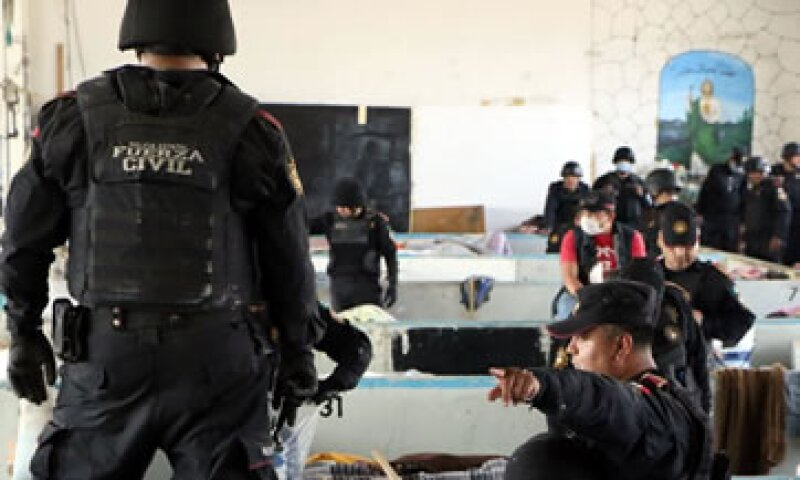 Casi 600 elementos participaron en el operativo. (Foto: Facebook/Comunicación Social del Estado de Nuevo León)