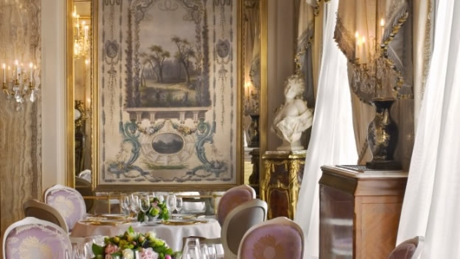 restaurant le louis xv