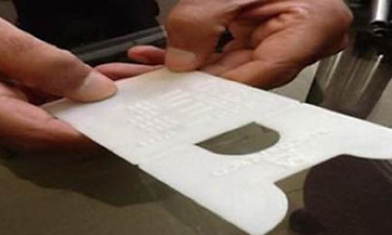 La tablilla fue diseñada por el Banco de México. (Foto tomada de Banxico)