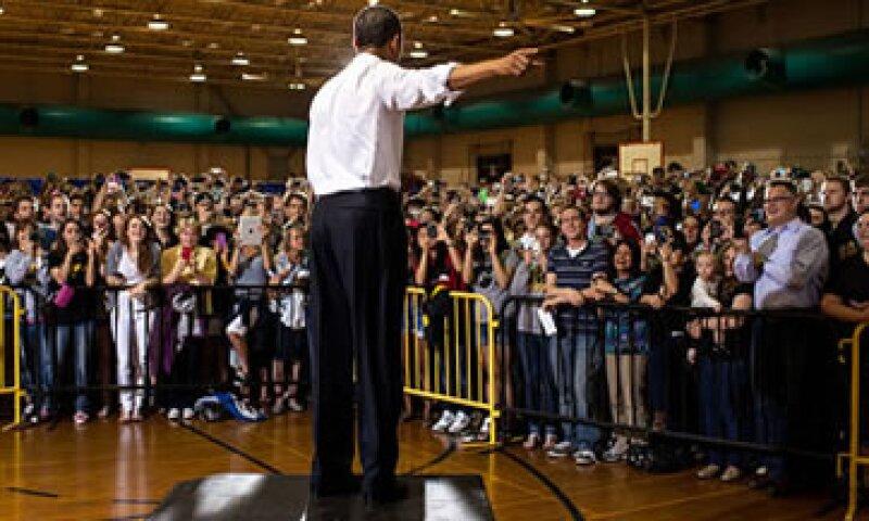 Los asesores de Obama pueden hacer poco para contrarrestar el impacto en la campaña del presidente por la crisis en Europa. (Foto tomada de CNNMoney)