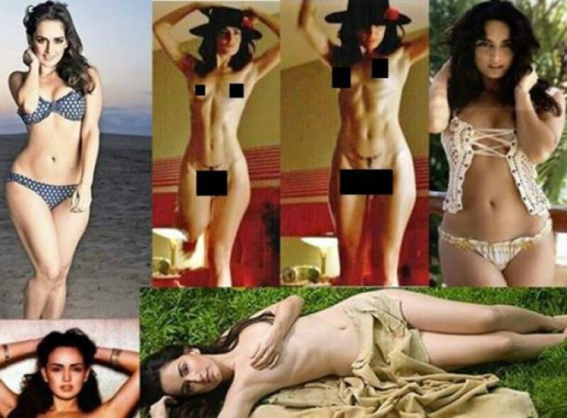 Un collage de fotos de la actriz se publicó hace unas horas en la red social, sin embargo fue despublicado rápidamente, ahora la pregunta es ¿quién subió la foto?