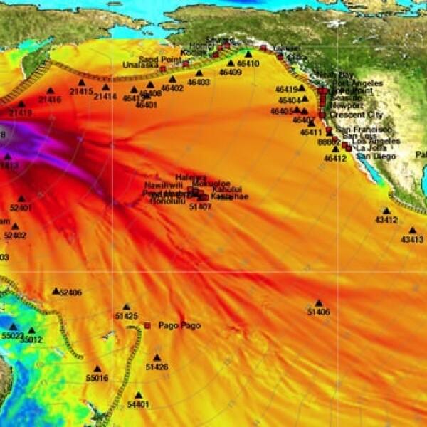 autoridades prevén daño por tsunamie en japon