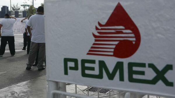Pemex letrero