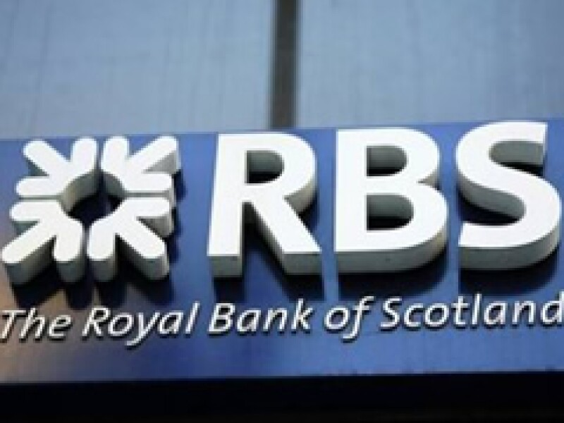 Royal Bank of Scotland ha sido fuertemente golpeado por la crisis mundial. (Archivo)