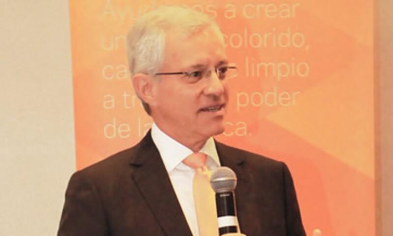 Luis Rebollar es el director general de Chemours en México. (Foto: Cortesía Chemours )