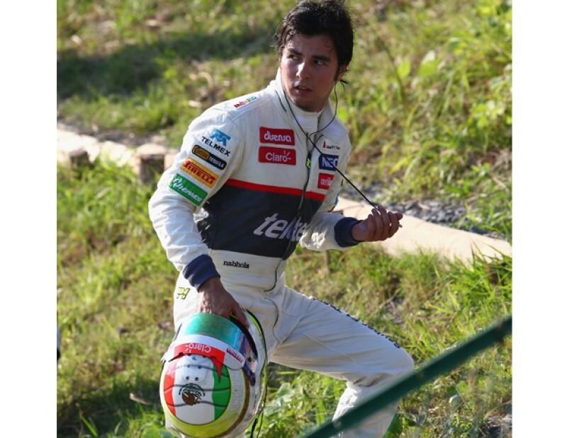 El piloto tapatío comenzó su carrera a los seis años.