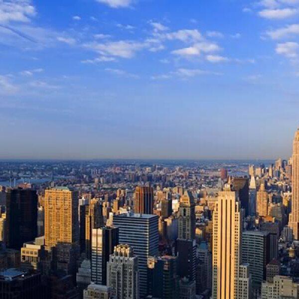 La Rockefeller Plaza, uno de los símbolos económicos del destino.