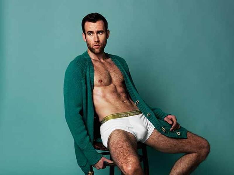 Las fotos sexys de Matthew Lewis abochornaron hasta a la misma JK Rowling.