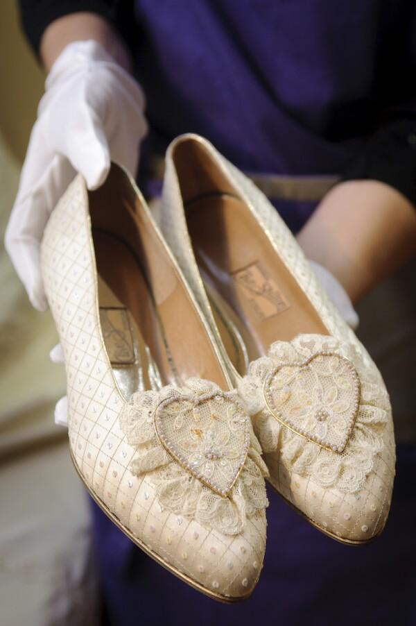 'Passion For Fashion' auction preview, La Galleria, London, Britain - 28 Nov 2011