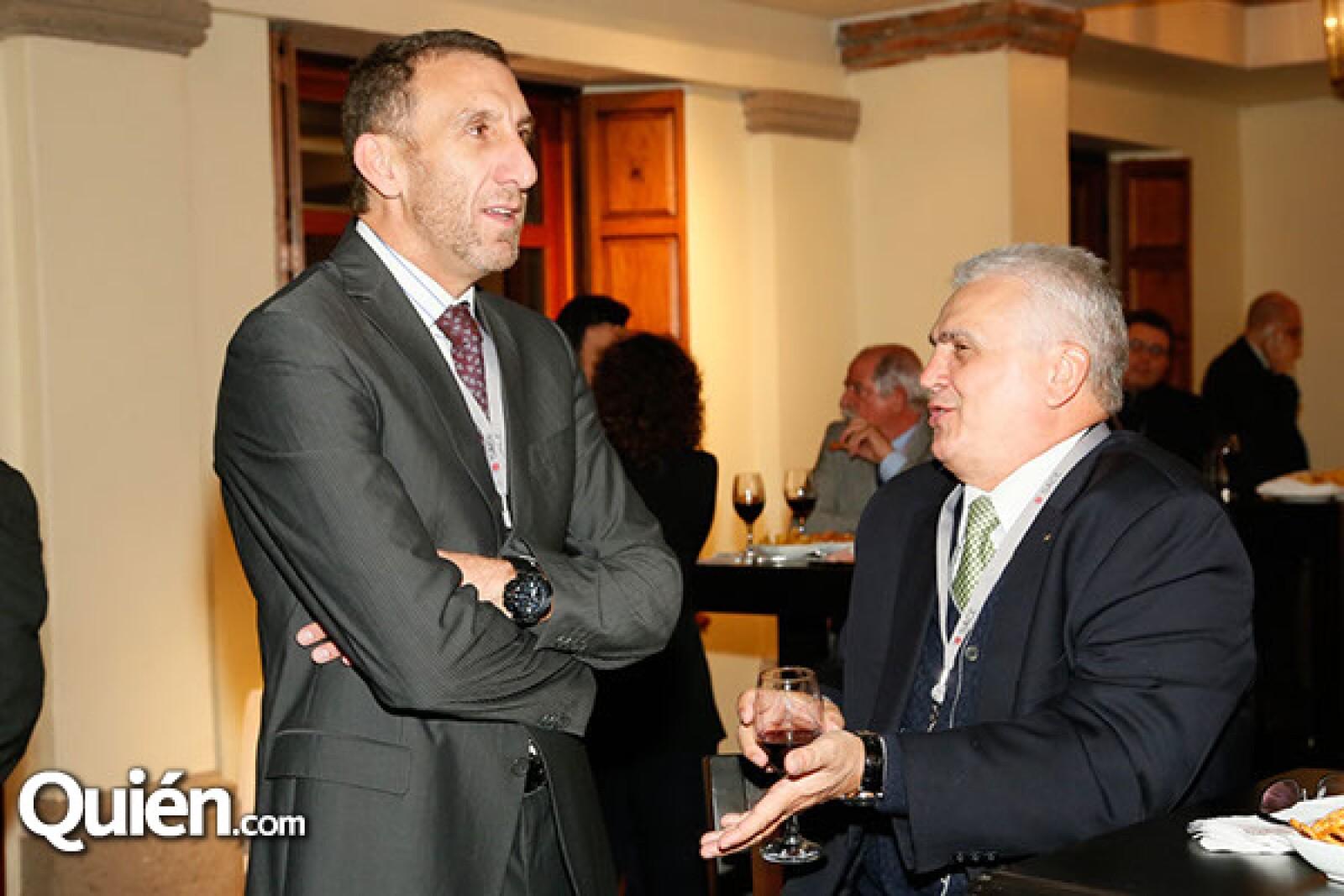 Marco Cannizzo y Vicenzo Delia