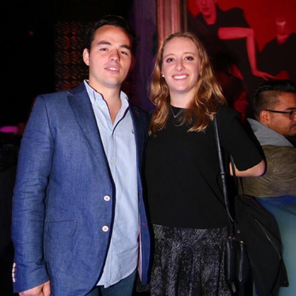 Gerardo Gutiérrez y Gabriela Sáenz
