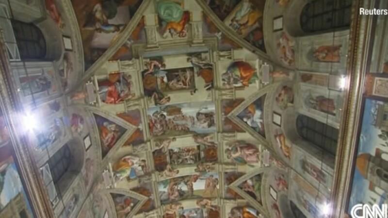 El fresco de Miguel Ángel en la Capilla Sixtina tiene una nueva ?visión? gracias a nueva tecnología