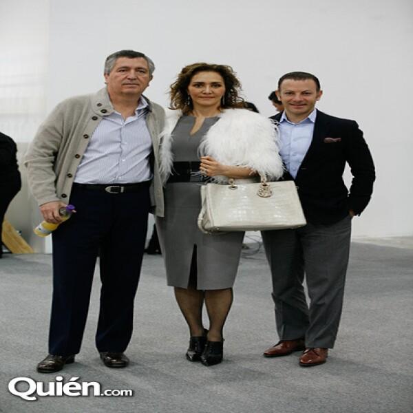 Jorge Vergara,Angélica Fuentes,David Cohen