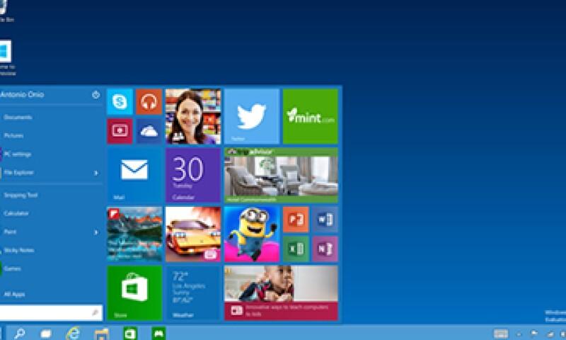 El Windows 10 beta permite explorar las principales novedades de la plataforma. (Foto: tomada de www.windows.microsoft.com)
