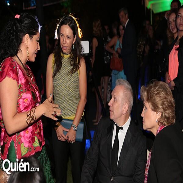 Alejandra Frausto,Laura Manzo,Jean Paul Gaultier,Rossana Fuentes Berain