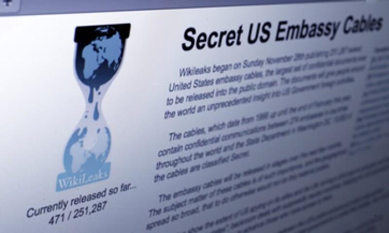 WikiLeaks difundió miles de cables diplomáticos que avergonzaron a Washington. (Foto: Archivo)