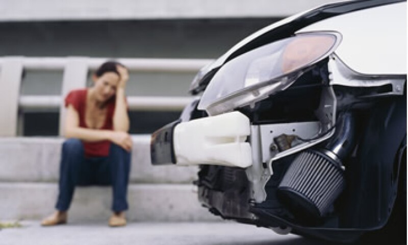 80% de los siniestros reportados a las aseguradores son choques con daños menores a 20,000 pesos. (Foto: Thinkstock)