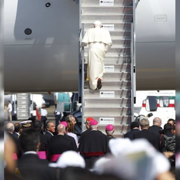 avion, papa, benedicto, guanajuato