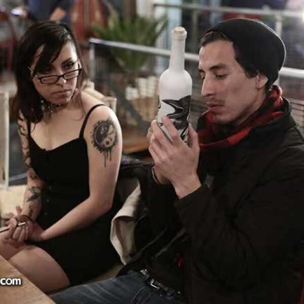 Raven Bazan y Bernardo Sega