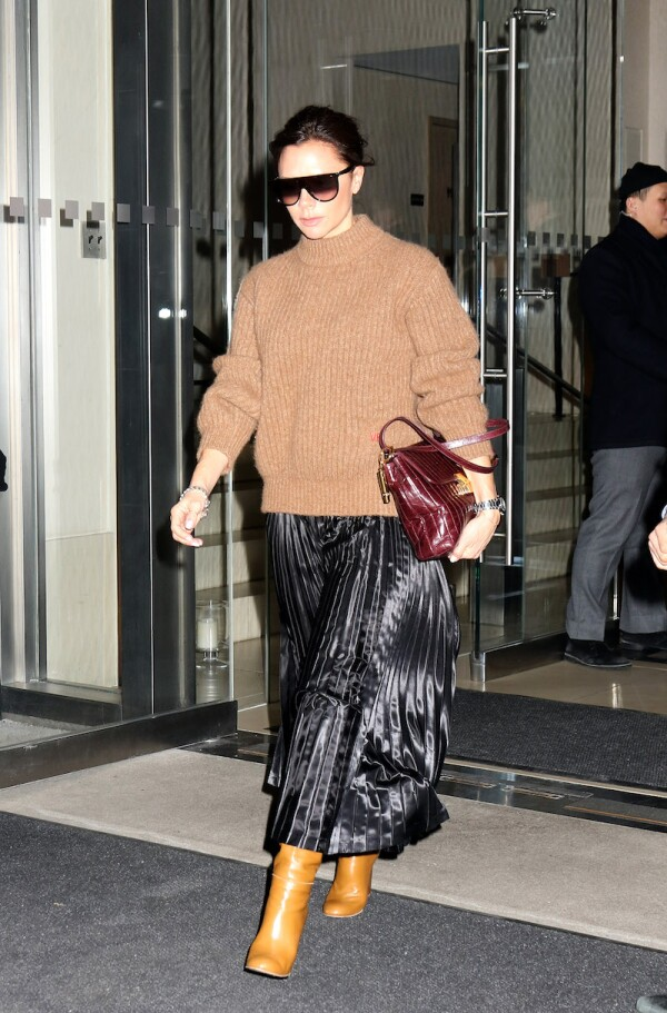 Victoria Beckham out and about, New York, USA - 06 Feb 2018