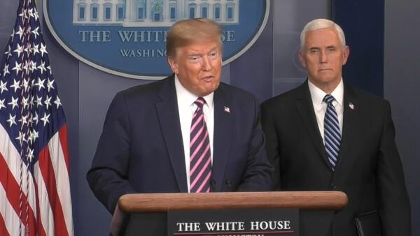 El presidente de Estados Unidos, celebró la reactivación en algunos estados, en momentos en que se han registrado más de 900,000 casos de COVID-19 y más de 51,000 decesos.