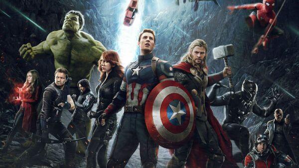 'Avenger, infinity war'