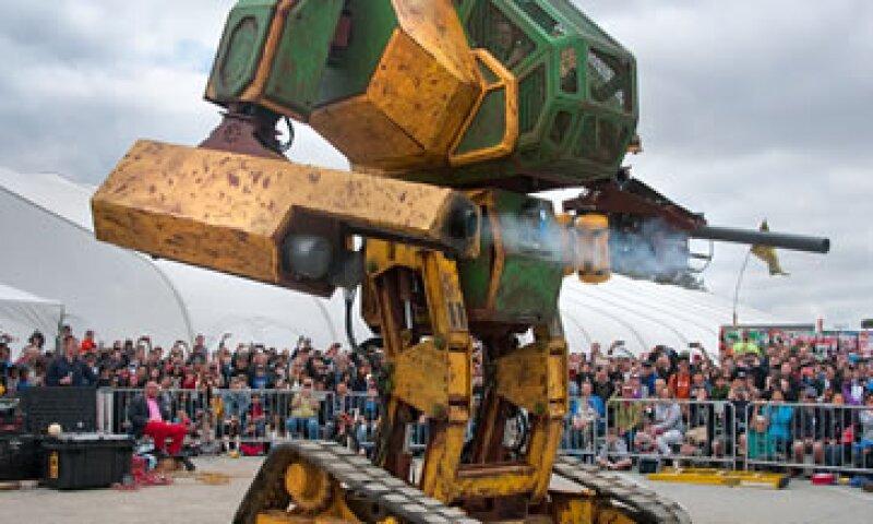 MK II es la creación de MegaBots Inc. pero la compañía busca mejorarlo para ganar la competencia. (Foto: Cortesía/ Kickstarter )