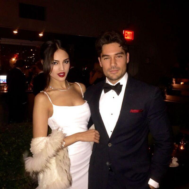 La pareja recibió el 2015 en una exclusiva fiesta en el Hotel Americano de Nueva York.