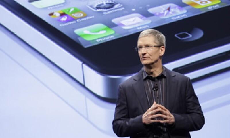 Tim Cook ocupa la dirección de Apple desde el 24 de agosto pasado. (Foto: AP)