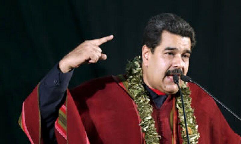 Nicolás Maduro anunció un aumento al salario mínimo a partir de noviembre.(Foto: Reuters )