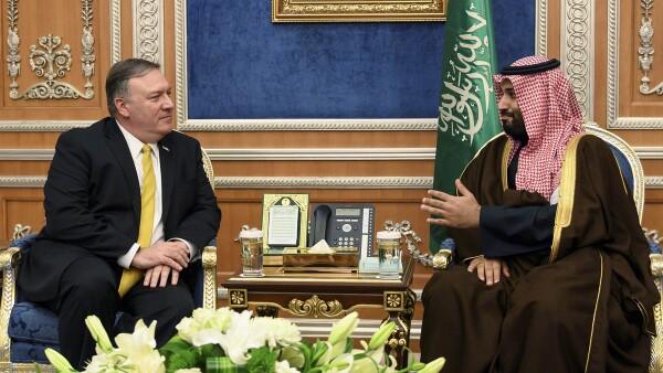 Pompeo en Arabia