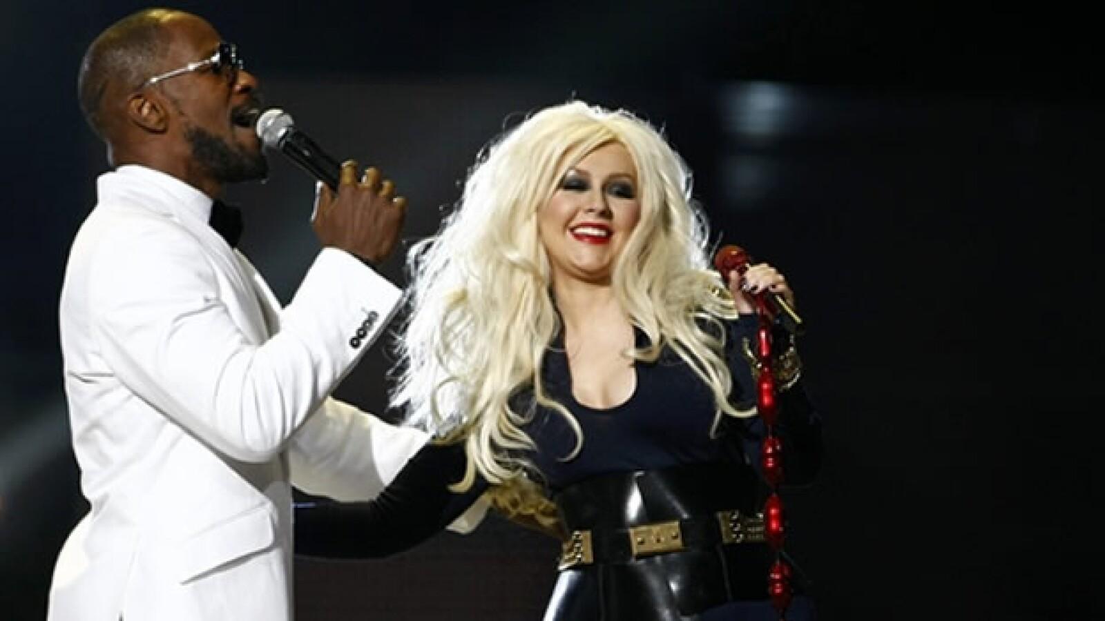 Michael Jackson Concierto Gales Hijos Fan Christina Aguilera