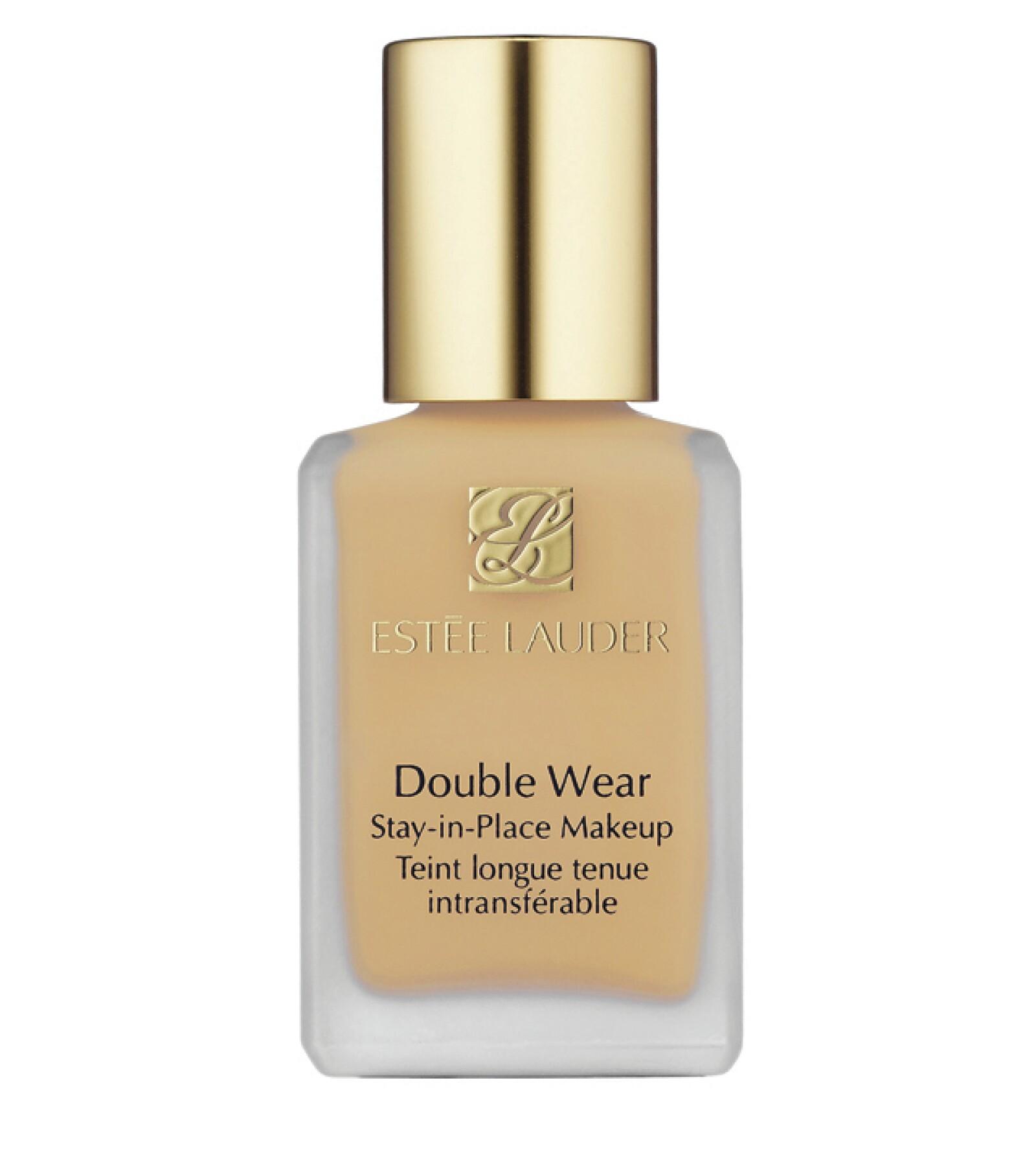 Estée Lauder: Double Wear. Maquillaje que dura hasta 15 horas sin caerse. Perfecto para la noche. Estée Lauder Boutiques. Precio en punto de venta.