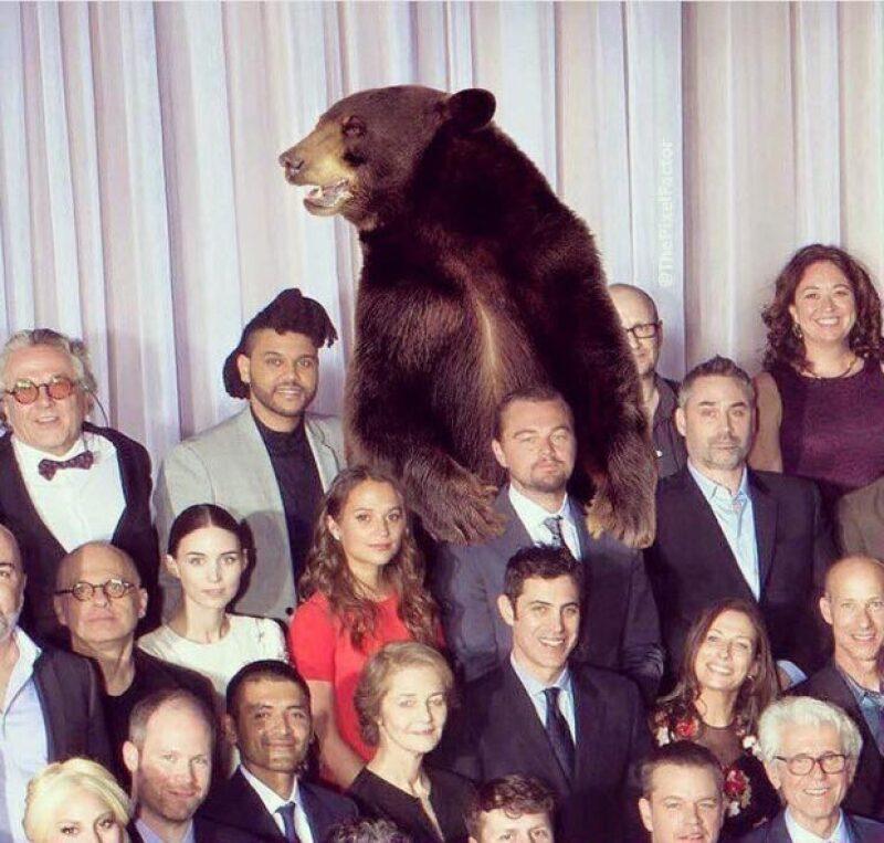 Los actores durante el evento de los Nominados al Oscar.