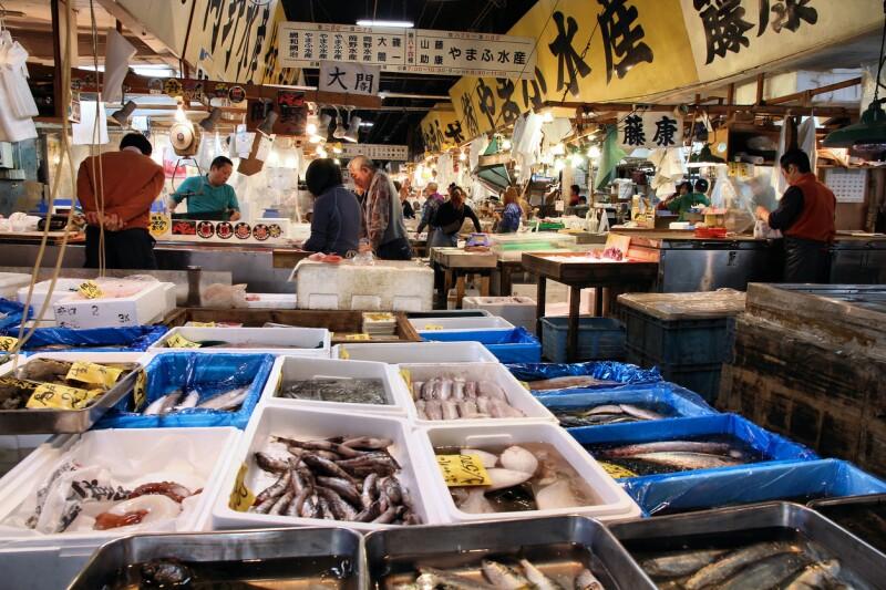 Tsukiji, Tokio