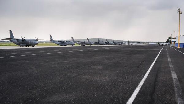 A la defensa de Santa Lucía. El presidente electo Andrés Manuel López Obrador insistió en que es viable construir el aeropuerto en la base militar.