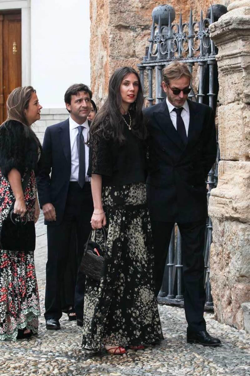 Tatiana Santo Domingo y Andrea Casiraghi fueron algunas de las personalidades que asistieron.