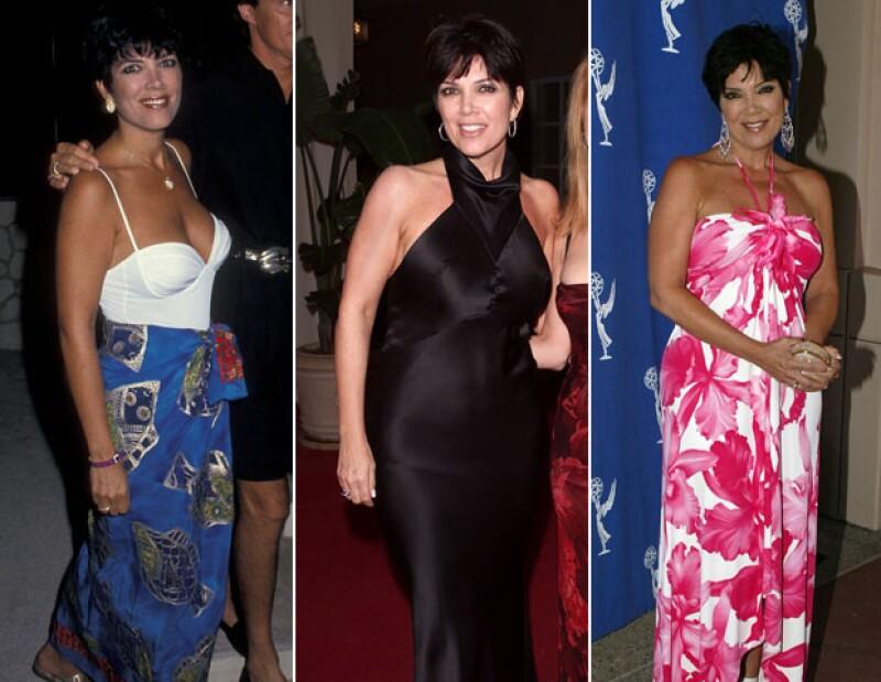 Kris Jenner, guapa en tres décadas distintas.
