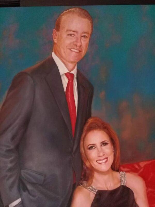 Quirino Ordaz y su esposa pintado por Ernesto Ríos Rocha.jpg
