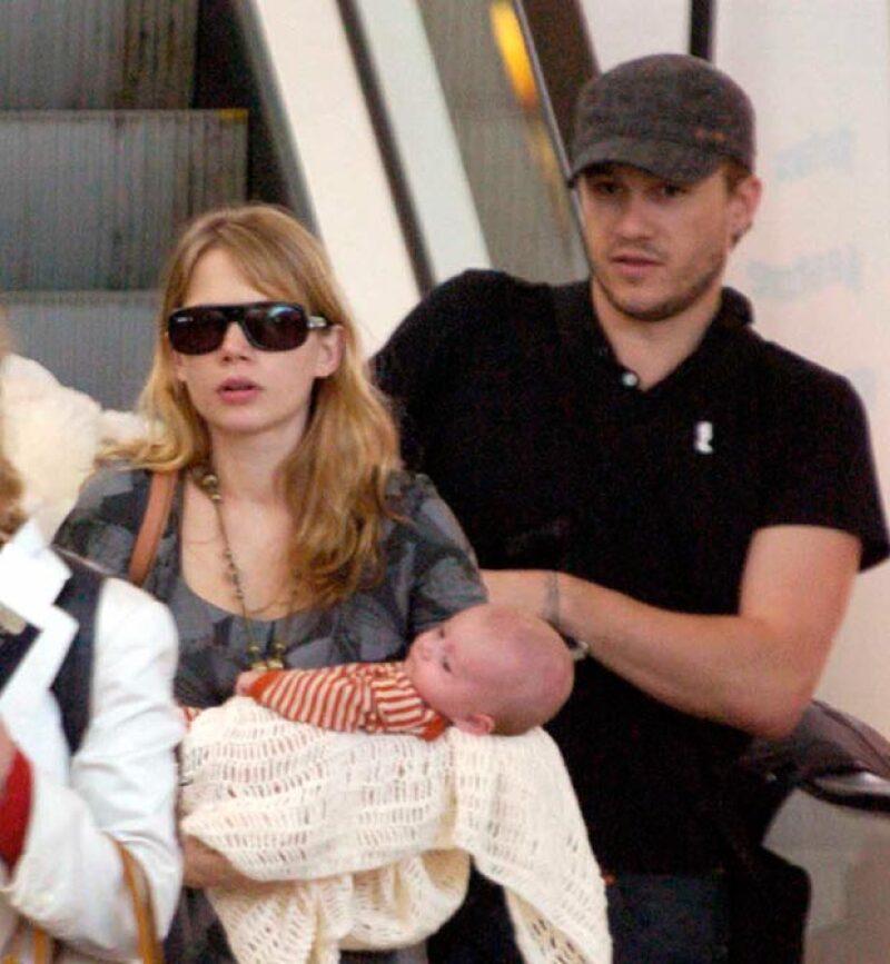 Matilda nació en octubre de 2005 fruto de la relación del actor con Michelle Wiliams.
