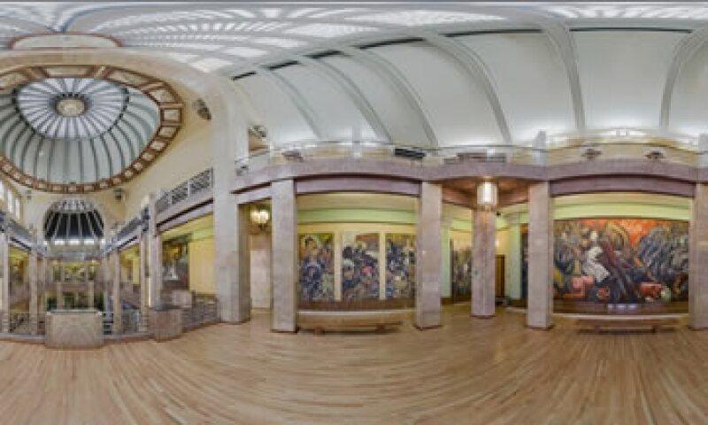 El Palacio de Bellas Artes es uno de los recintos que participan en esta iniciativa. (Foto: INBA/Cortesía )
